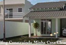 fachada de casas pequenas