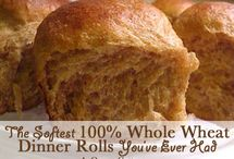 Food: Homemade Bread / by Christina@TheFrugalHomemaker.com