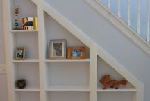 Room under the stairs:)