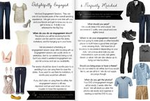 """What to wear for Engagement Pictures / Amanda Hein Photography's Inspiration Board for """"What to wear for engagement pictures"""""""
