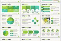 Simple marketing materials