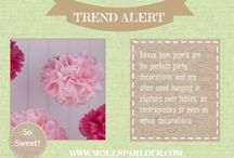 Molls Parlour - Trend alert / What we're loving right now at www.mollsparlour.com
