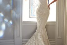 Wedding gowns / Wedding gowns dresses dress gown bridal pretty white brides maid marriage love lace floral beautiful designer Vera wang balmain