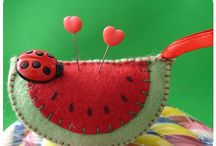 Pincushion from pinterest