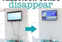 how to make television cords disappear
