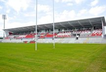 Kingspan Stadium, Ravenhill / Joinery Fit Out by Specialist Joinery Group Main Contractors - Gilbert Ash Photography courtesy of Gordon McAvoy
