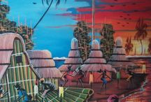 African Art and Painting. / Art and Painting created by local African Artist.