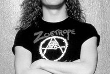 Jason newsted ☺️ / A good old member of Metallica and a good bas player.   Jason newsted.