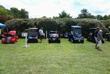 Golf cart and car show at Beth Page RV Resort July 27, 2014