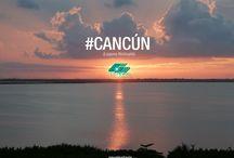 Amaneceres y Atardeceres / Hermosas puestas de sol en #Cancún y #LosCabos, atardeceres y amaneceres en estas bellas playas mexicanas.