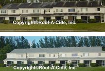 Roof-A-Cide Before & After / Before & After Pictures of Roof Cleaning