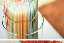 Ideias de decoração , comida ...