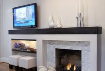 Fireplace & Mantle / by Leslie Lettmann