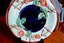 Majolica and Blended Glazed Pottery / Majolica and majolica like pottery, porcelain, ceramics / by More Than McCoy