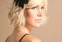 burlesque hairpieces & birdcage veils / by Susana Galaviz