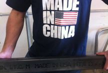 Not Made in China / All American Clothing Co. fans send in their 'Not Made in China' photos!  / by AllAmericanClothing
