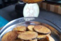 berinjela crocante no forno.