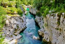 SLOVENIA: TRAVEL INSPIRATION / Natural vistas and tourist attractions in Slovenia