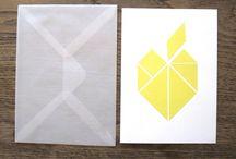 Postkarten Geometrie