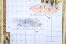Calendario / Planificador, Calendario