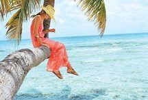 tropical photoshoot