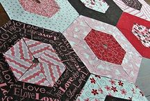 Quilting - Hexies