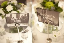 Wedding Theme New York / 'I Love NY' a cool, stylish and historic wedding theme, concrete jungle with fabulous 'street-scene' imagery and romantic photography in 'raw' urban settings.  Focus on the famous landmarks- 5th avenue, Times Square, The Empire State Building, The Statue of Liberty or go 'Tiffany' chic with classy Tiffany blue invitations.