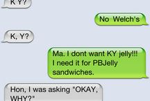 Parents shouldnt text hahaha / by Diane Killingback