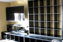 Bookcase/kitchen / Remodeling
