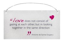 Love Wall Signs Plaques / Wall plaques and signs all about love x