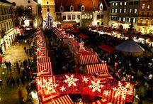 Trouvailles Pinterest: Les marchés de Noël / Chaque vendredi, nous vous présenterons ce qui nous a inspiré dans le monde fabuleux de Pinterest durant la semaine. Chronique sur un thème précis présentée par la photographe Marie-Claude Viola.