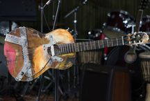 Extreme Guitars by T.Burton / Extreme Guitar  breaks stereotype of guitar as traditional instrument for conservative people, it's built without any rules or limitations. In extreme guitar wood met steel, hammer met paintbrush, unbound engineer's thinking met modern, multidisciplinary artist view...