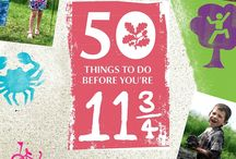 50 things to do before you're 11 3/4 / by Tami White