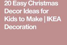 Weihnachtsdekoration von Ikea