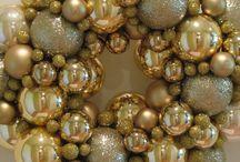 modern gold xmass