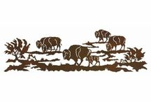 Wildlife Wall Art / Add character to the walls in your living space when you decorate them with wildlife metal wall art. Suit all of your decorating needs in your home, cabin, ranch, lodge, or cottage when you hang any of these wildlife wall decor decorations.