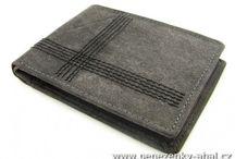 Nové pánské peněženky kožené