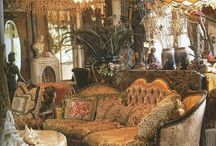 Modern Victorian / whimsical madness with a touch of Chinoiserie...???