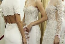 TWO-PIECE STYLE / Hermione Harbutt Bridal Inspirations for future brides who imagine a two piece bridal creation.