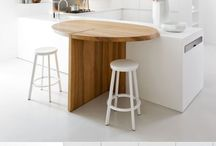 Cuisine - Table retractable