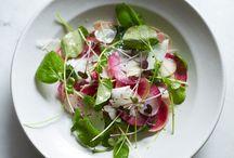 Salads and vegetables / by Monica Anaya