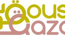 Arabic Caligraphy Logo Designs / A collection of #Calligraphy and #Logo #Designs made by Qousqazah.com