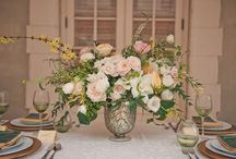 Floral Country House / Brideshead Revisited meets floral garden, elegant wedding inspiration