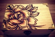 Wood Burning / Designs, tips, and tricks.