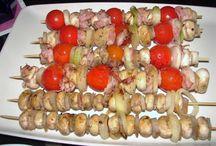 HOUBY (různá jídla)