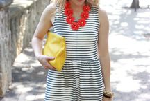 Makeover Monday: Roses and Stripes / Great outfits for summer