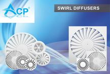 NEW : SWIRL Diffusers / | #hvac | #acp | #manufacturer | #ventilation | #products | #romania | #ventilatie  | #griledeventilatie | #producator | #technology