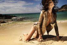 Mediterranean / lifestyle beach scene
