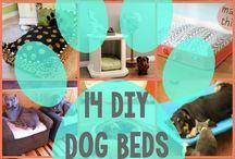 Diy dog and cat beds