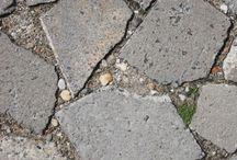 Hergebruik betontegels
